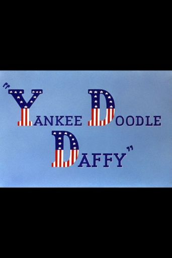 Yankee Doodle Daffy Poster