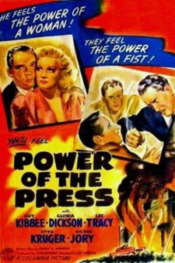 Power of the Press Poster