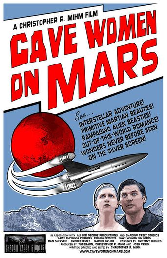 Cave Women on Mars Poster