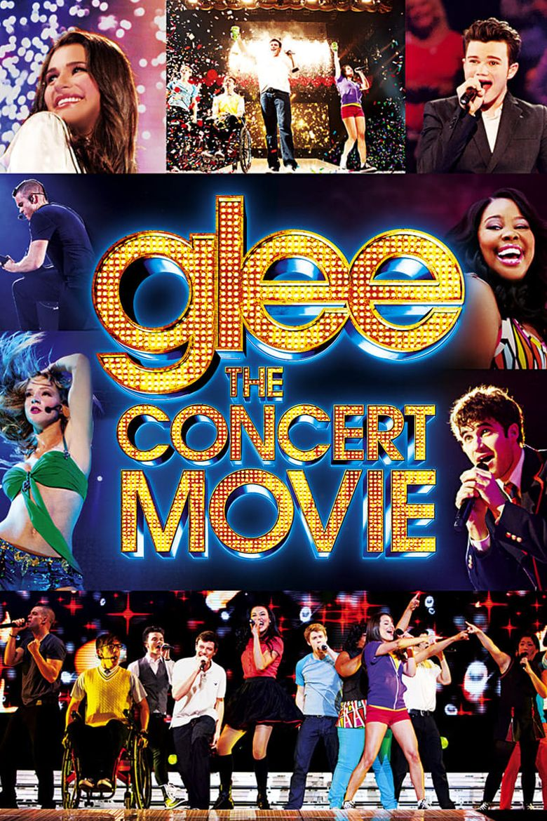Glee: The Concert Movie Poster