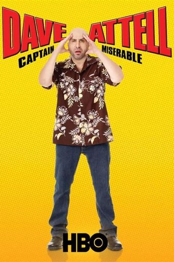 Dave Attell: Captain Miserable Poster