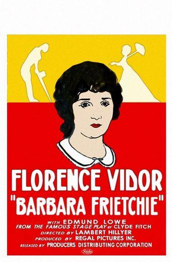 Barbara Frietchie Poster