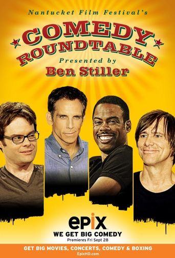 Nantucket Film Festival's Comedy Roundtable Poster