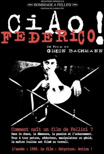 Ciao, Federico! Poster