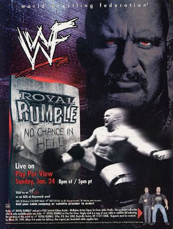 WWE Royal Rumble 1999 Poster
