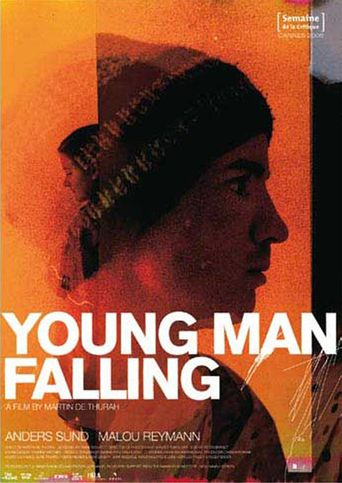 Young Man Falling Poster