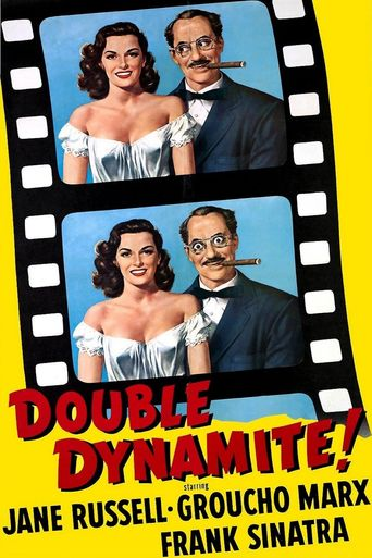 Double Dynamite Poster