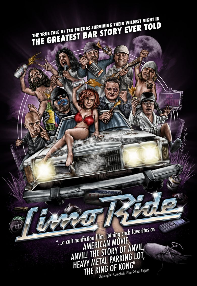 Limo Ride Poster