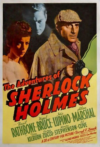 The Adventures of Sherlock Holmes Poster