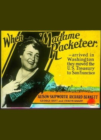 Madame Racketeer Poster