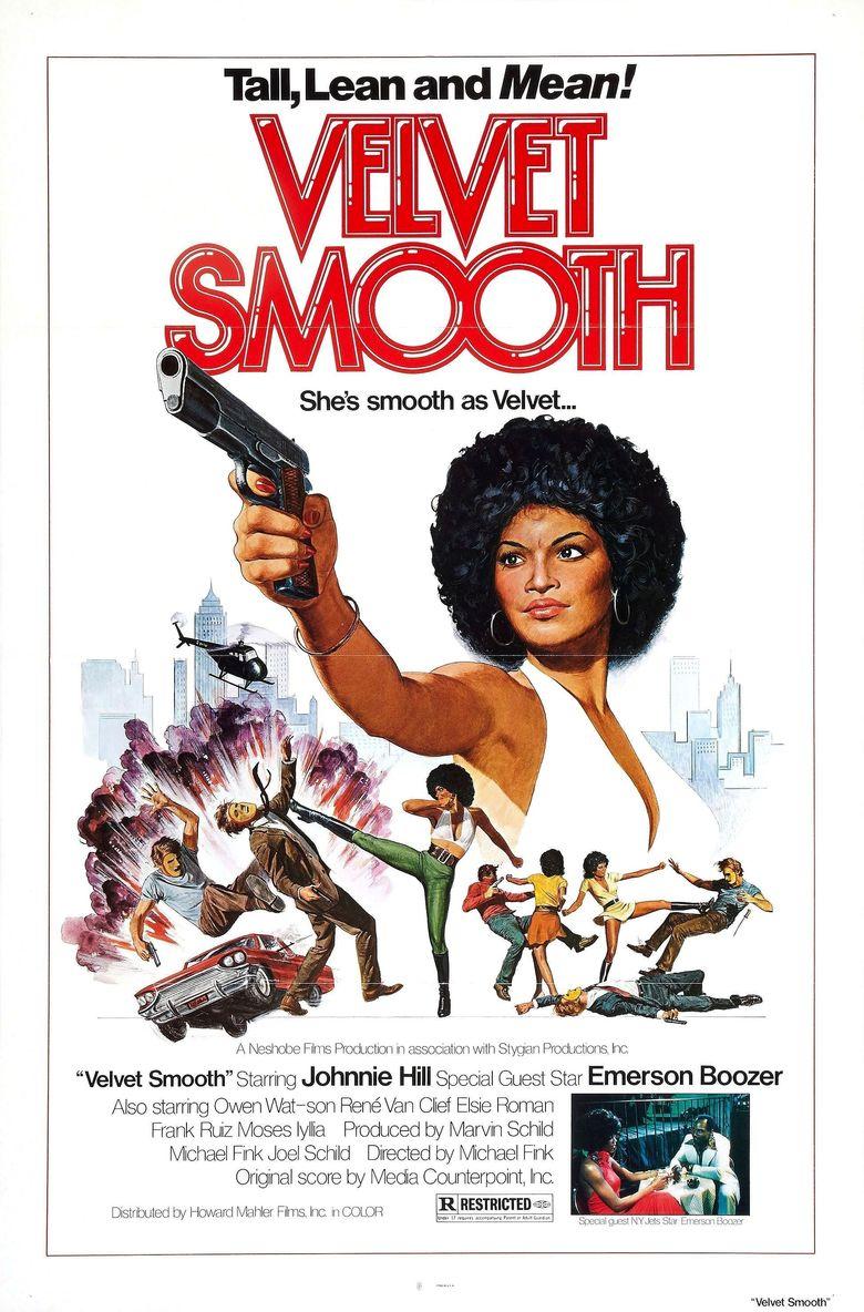 Velvet Smooth Poster