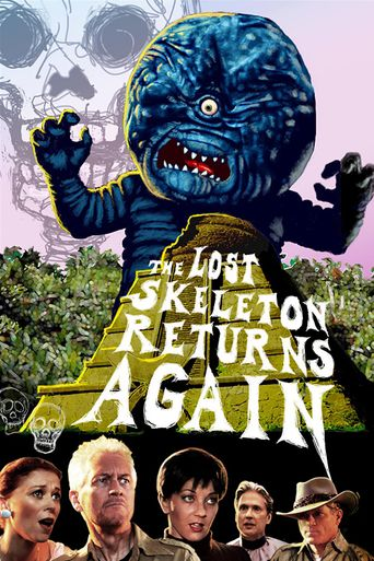 The Lost Skeleton Returns Again Poster