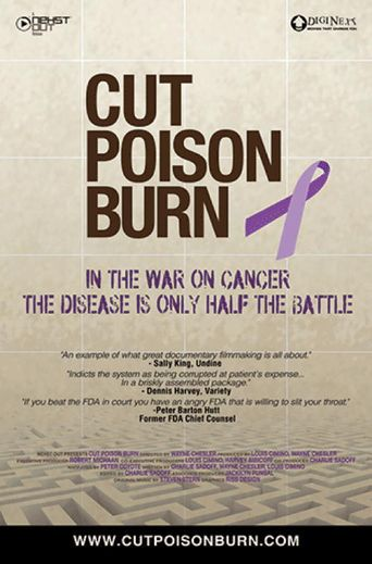 Cut Poison Burn Poster