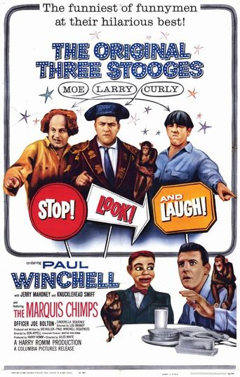 Stop! Look! and Laugh! Poster