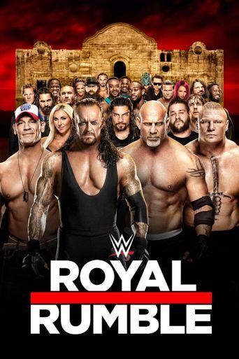 WWE Royal Rumble 2017 Poster