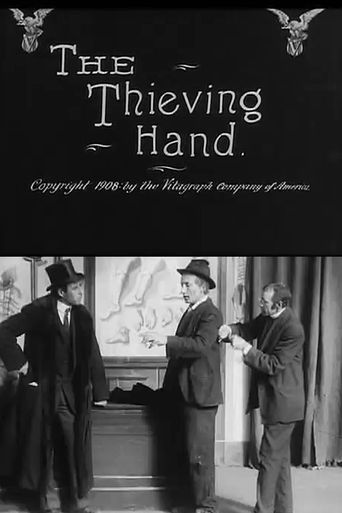 The Thieving Hand Poster