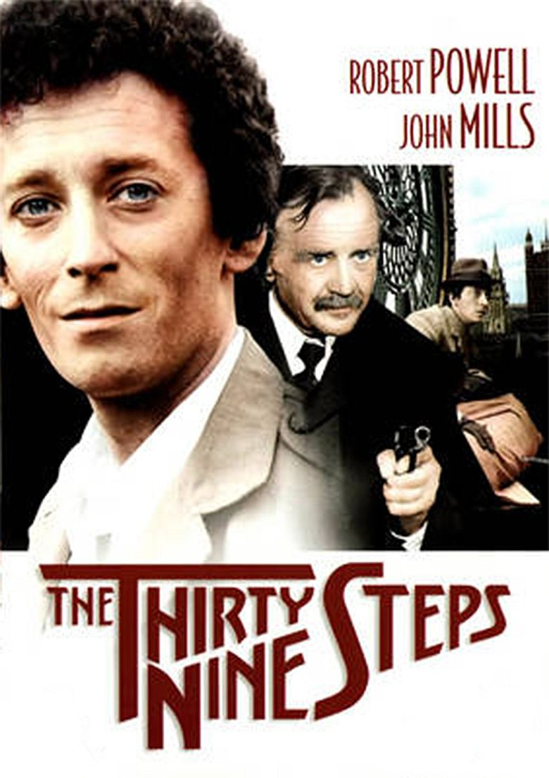 The Thirty Nine Steps Poster