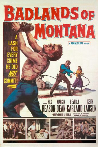 Badlands of Montana Poster