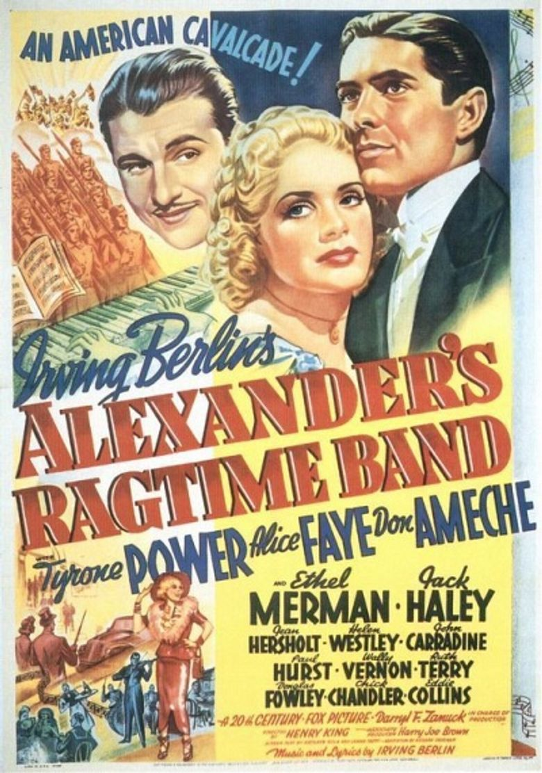 Alexander's Ragtime Band Poster