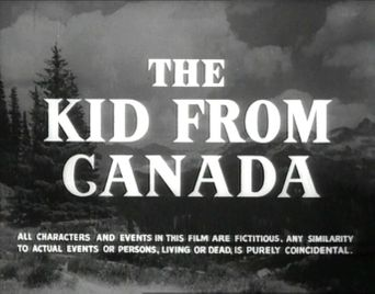 The Kid from Canada Poster