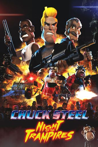 Chuck Steel: Night of the Trampires Poster