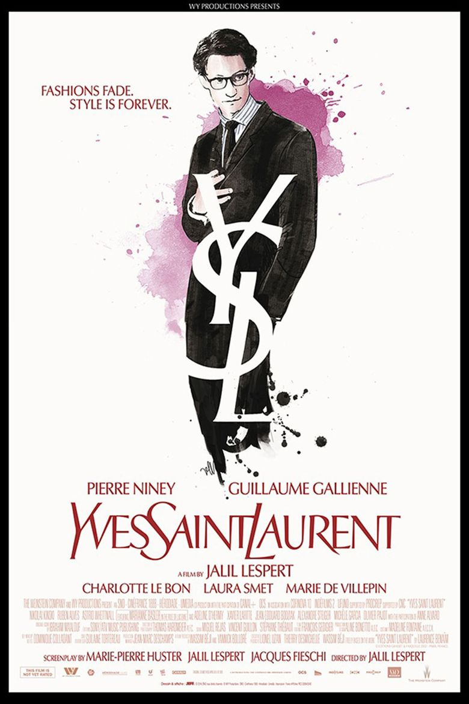 Yves Saint Laurent Poster