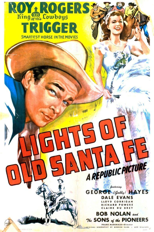 Lights of Old Santa Fe Poster
