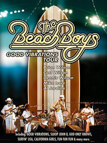 The Beach Boys: Good Vibrations Tour Poster