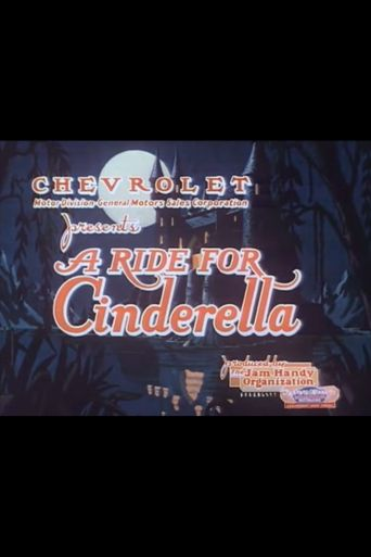 A Ride for Cinderella Poster