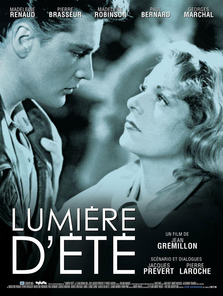 Lumière d'Été Poster
