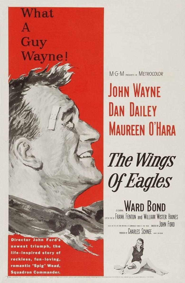 The Wings of Eagles Poster