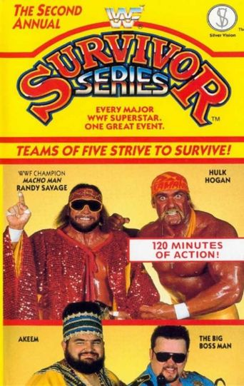 WWE Survivor Series 1988 Poster