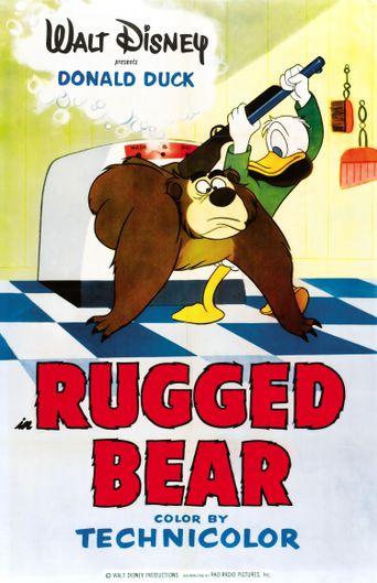 Rugged Bear Poster