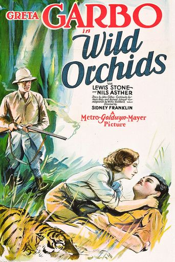 Wild Orchids Poster