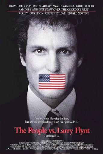 The People vs. Larry Flynt Poster