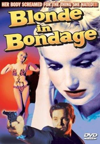Blonde in Bondage Poster