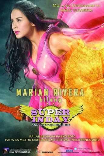 Super Inday and the Golden Bibe Poster