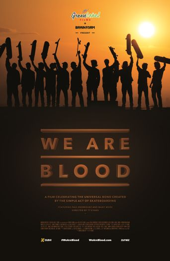 We Are Blood Poster