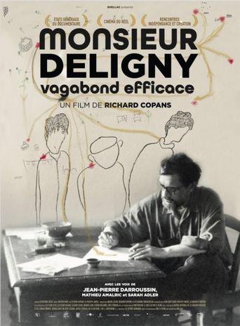 Monsieur Deligny, vagabond efficace Poster