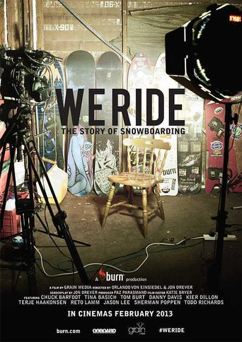 We Ride: The Story of Snowboarding Poster