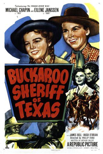 Buckaroo Sheriff of Texas Poster