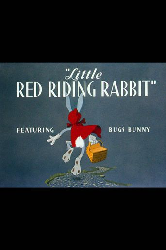 Little Red Riding Rabbit Poster