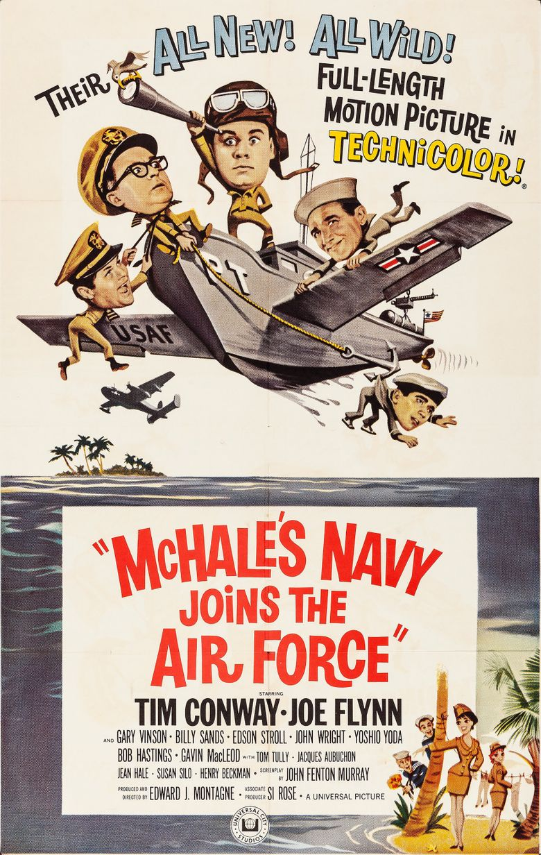 McHale's Navy Joins the Air Force Poster