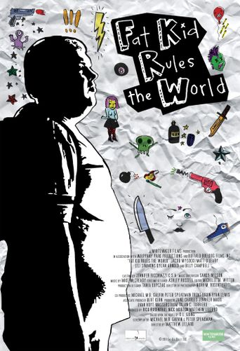 Fat Kid Rules The World Poster
