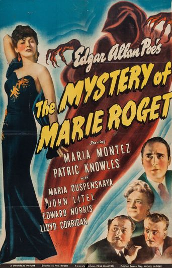 The Mystery of Marie Roget Poster