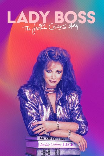 Lady Boss: The Jackie Collins Story Poster