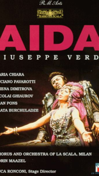 Aida Pavarotti Poster