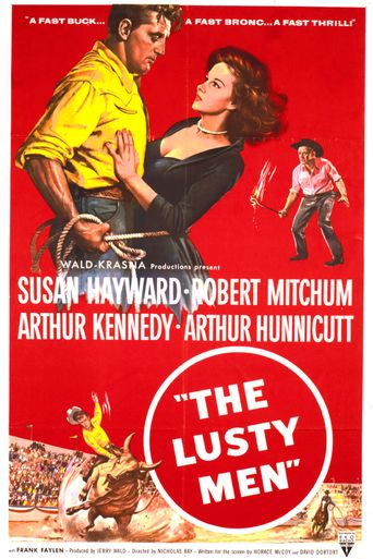 The Lusty Men Poster