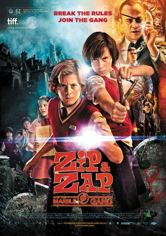 Zip & Zap and the Marble Gang Poster