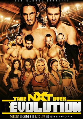 NXT TakeOver: R-Evolution Poster